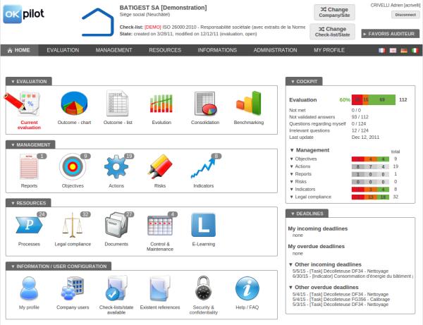 okpilot application de gestion de certification