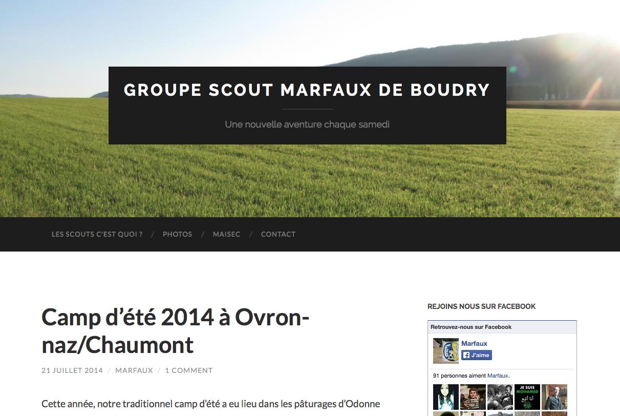 Scouts Marfaux