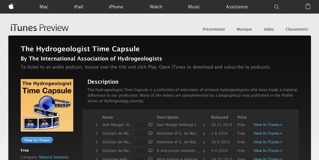 Timecapsule podcast