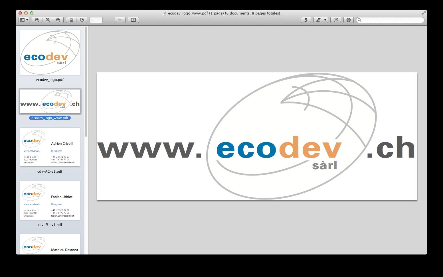 Ecodev - logo web