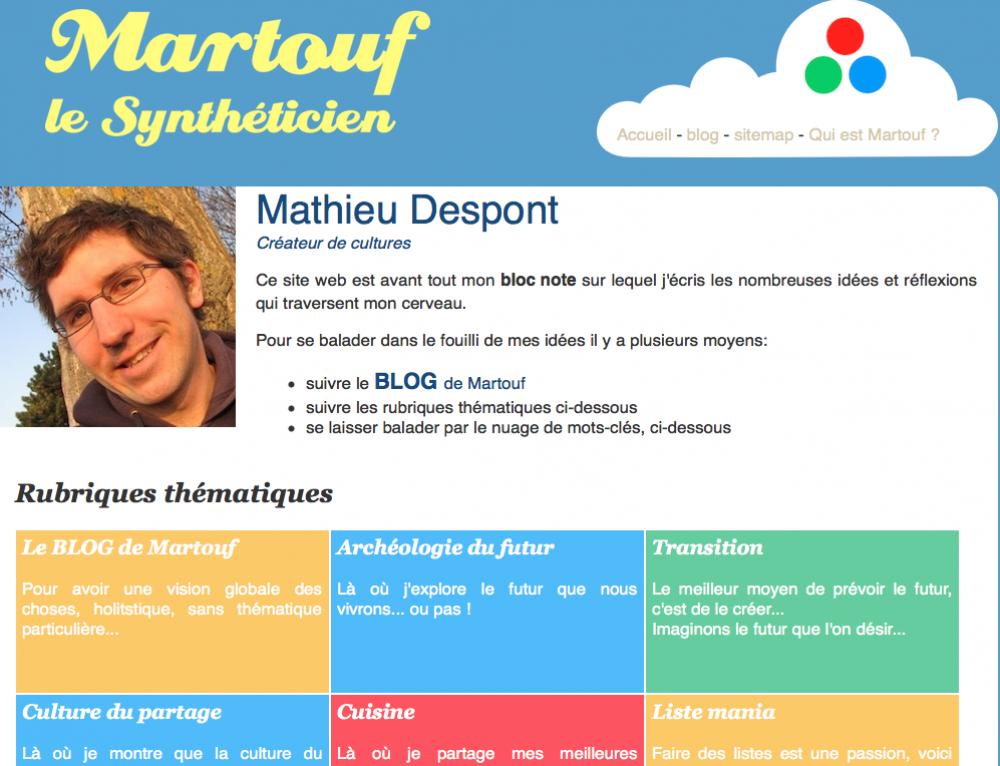 Martouf le synthéticien