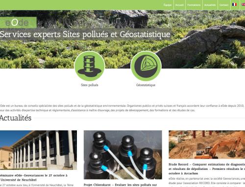 eOde: Services experts Sites pollués et Géostatistique