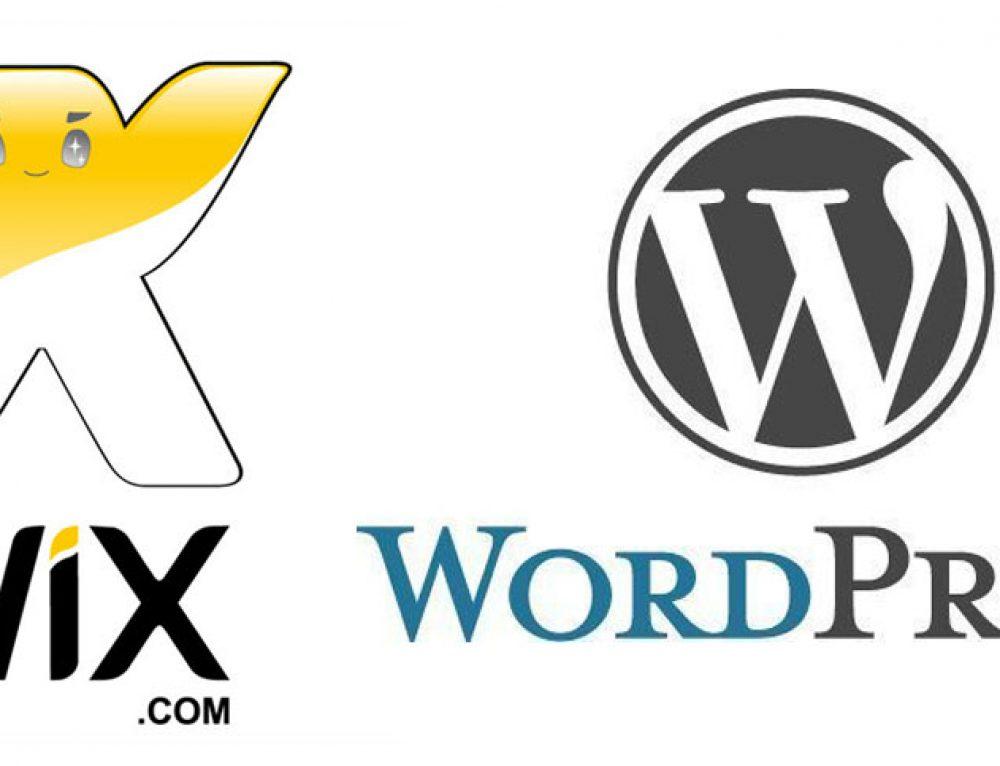 Quelle est la différence entre un site Wix et un site WordPress ?