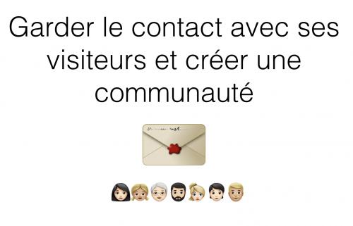 couverture formation communaute e-mail lettre de nouvelle
