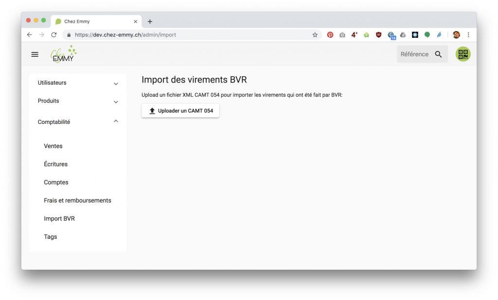 Logiciel gestion epicerie cooperative participative 2019-06-12 à 11.48.05 importation bvr xml capt fichier banque