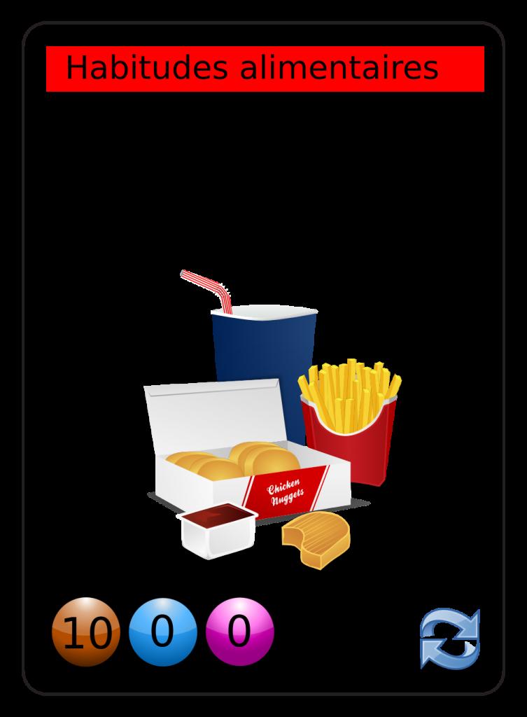 image vectorielle libre de droit fast food