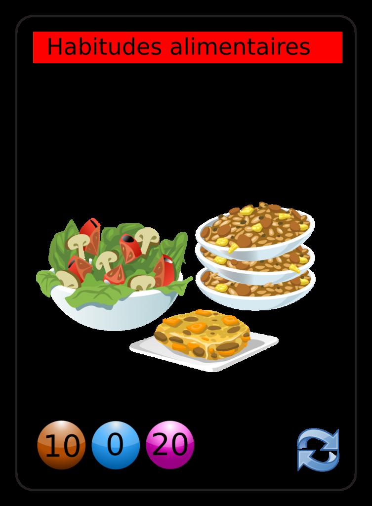 image vectorielle libre de droit végétarien