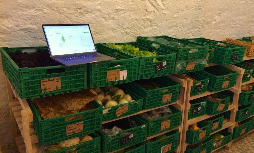 gestion des stocks epicerie cooperative participative logiciel Epicerio fruit legumes