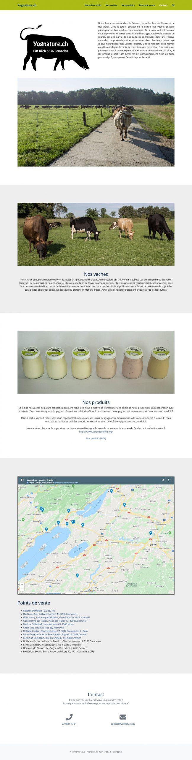 site web vitrine a faible empreinte écologique